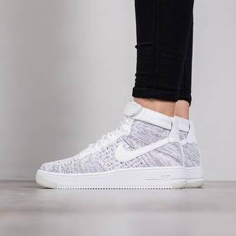 Buty damskie sneakersy Nike Air Force 1 Flyknit 818018 101