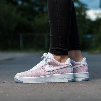Buty damskie sneakersy Nike Air Force 1 Flyknit Low 820256 102