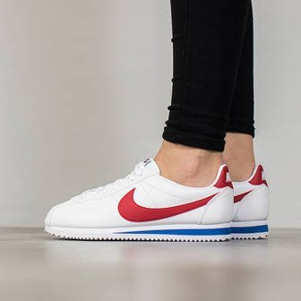 "Buty damskie sneakersy Nike Classic Cortez Leather ""Forrest Gump"" 807471 103"