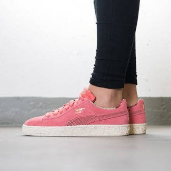 Buty damskie sneakersy Puma Basket X Careaux X Porcelain Rose 362307 01
