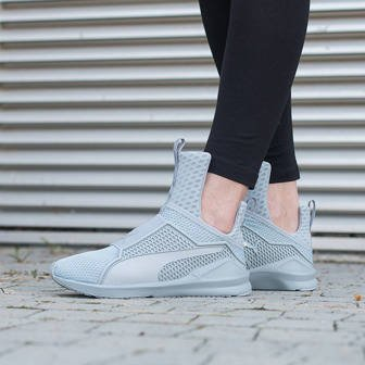 "Buty damskie sneakersy Puma The Trainer X Fenty by Rihanna ""Quarry-Quarry"" 189193 04"
