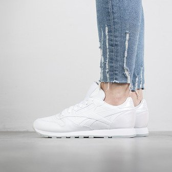 "Buty damskie sneakersy Reebok Classic Leather L ""Pearl White"" BD5807"