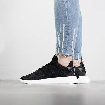 "Buty damskie sneakersy adidas Originals NMD_R2 ""Core Black"" BY9314"