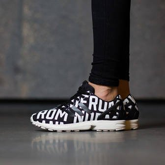 "Buty damskie sneakersy adidas Originals ZX Flux x Rita Ora ""Deconstructed Pack"" B72683"
