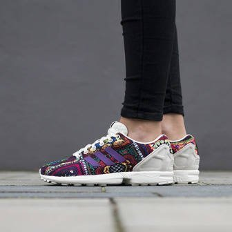 Buty damskie sneakersy adidas Originals ZX Flux x The Farm Company S76593