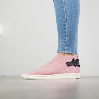 Buty damskie sneakersy adidas Stan Smith Sock Primeknit BY9250