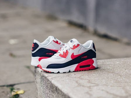 Buty dziecięce sneakersy Nike Air Max 90 Leather (PS) 833377 005