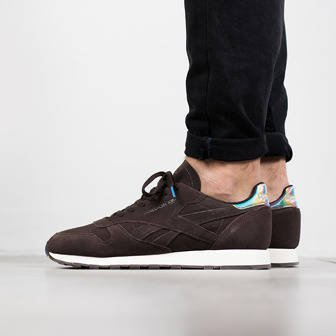 "Buty męskie sneakersy Reebok Classic Leather Cosmic Brownie  ""Munchies Pack"" BD4886"
