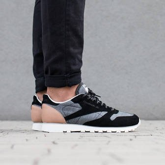 "Buty męskie sneakersy Reebok Classic Leather ""Flecked Pack"" AQ9723"