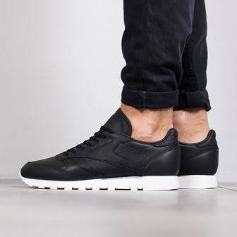Buty męskie sneakersy Reebok Classic Leather Old Meets New BD1906
