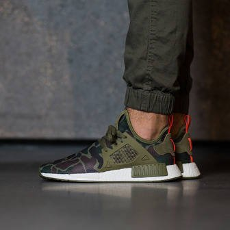 "Buty męskie sneakersy adidas Originals NMD_XR1 ""Duck Camo Pack"" Olive Cargo BA7232"