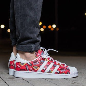 Buty męskie sneakersy adidas Originals Superstar Nigo AOP Allover Print S83388
