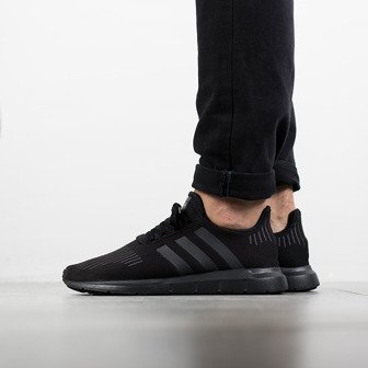 "Buty męskie sneakersy adidas Originals Swift Run ""Core Black"" CG4111"