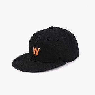 Czapka Wood Wood Baseball Cap 11910815-7083 BLACK