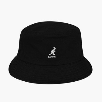 Kapelusz Kangol Washed Bucket Hat K4224HT BLACK