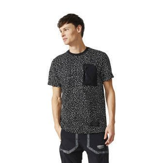 "Koszulka męska adidas Originals NMD Allover Print Tee ""Black / White"" BS2486"