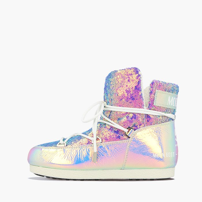 Buty damskie Moon Boot 50 Anniversary Leather Holo 24201600