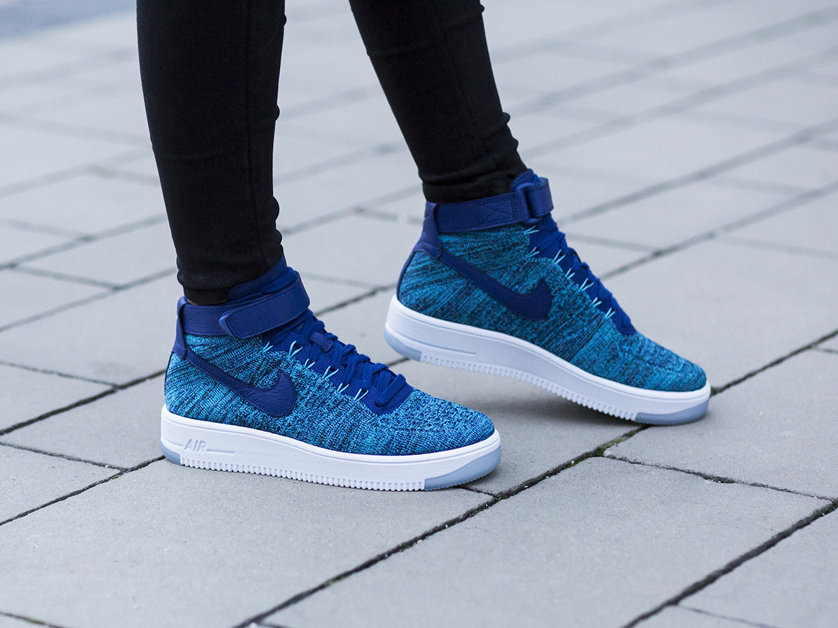 buty nike air force 1 flyknit