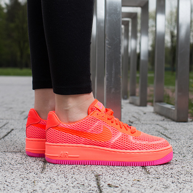 nike air force 1 low red damskie