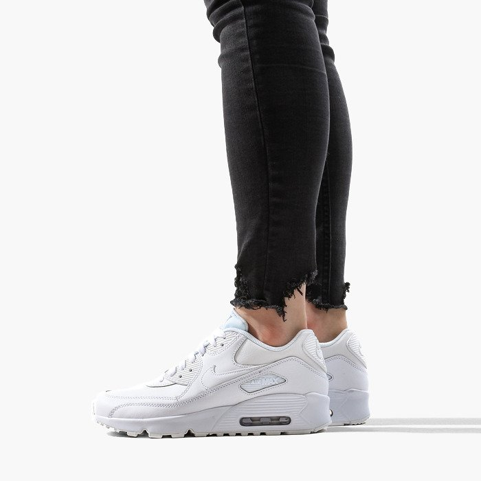 Air Max 90 LTR GS 833412 100 Buty Damskie Sneakersy (Nike