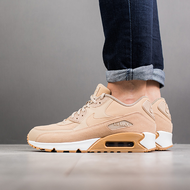 quality design f4b67 5fc8b ... Buty damskie sneakersy Nike Air Max 90 Se 881105 200 ...