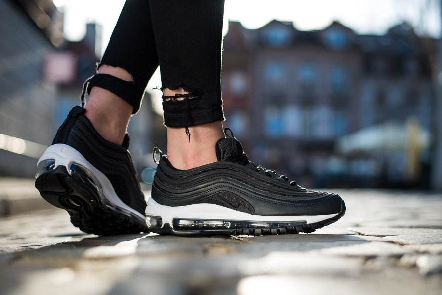 Buty damskie sneakers Nike WMNS Air Max 97 Premium black