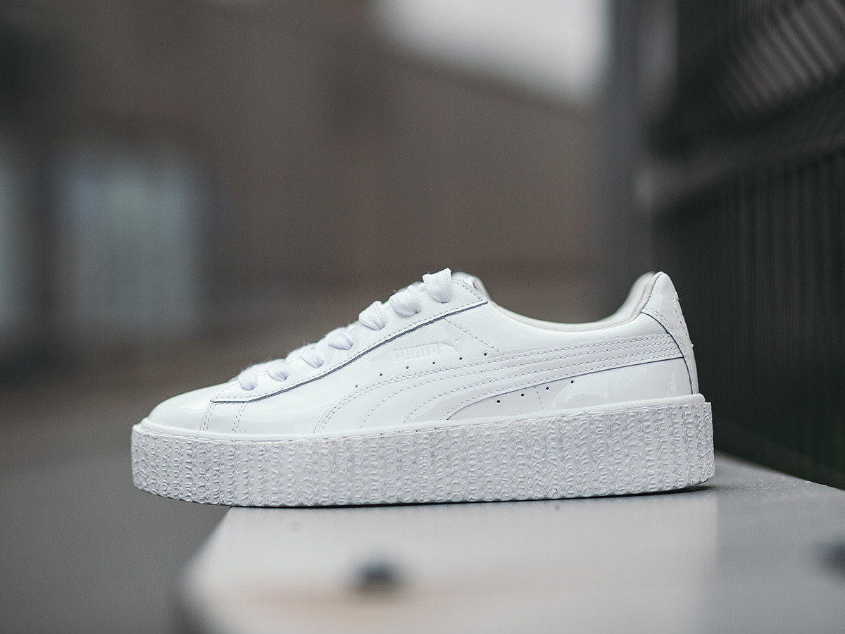 puma creeper szary