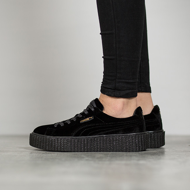 puma creeper złote