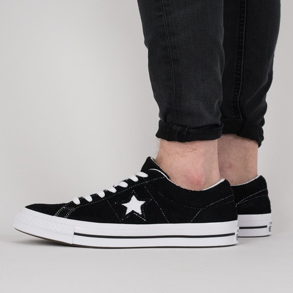 Converse ONE STAR '74 PREMIUM SUEDE BLACK 40 Ceny i opinie