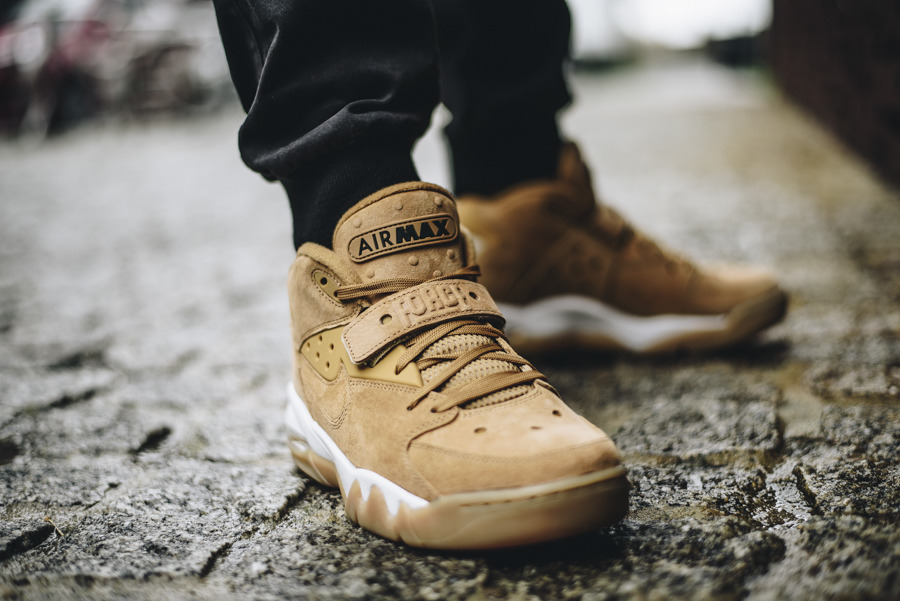 Buty męskie sneakersy Nike Air Force Max Premium Flax Pack