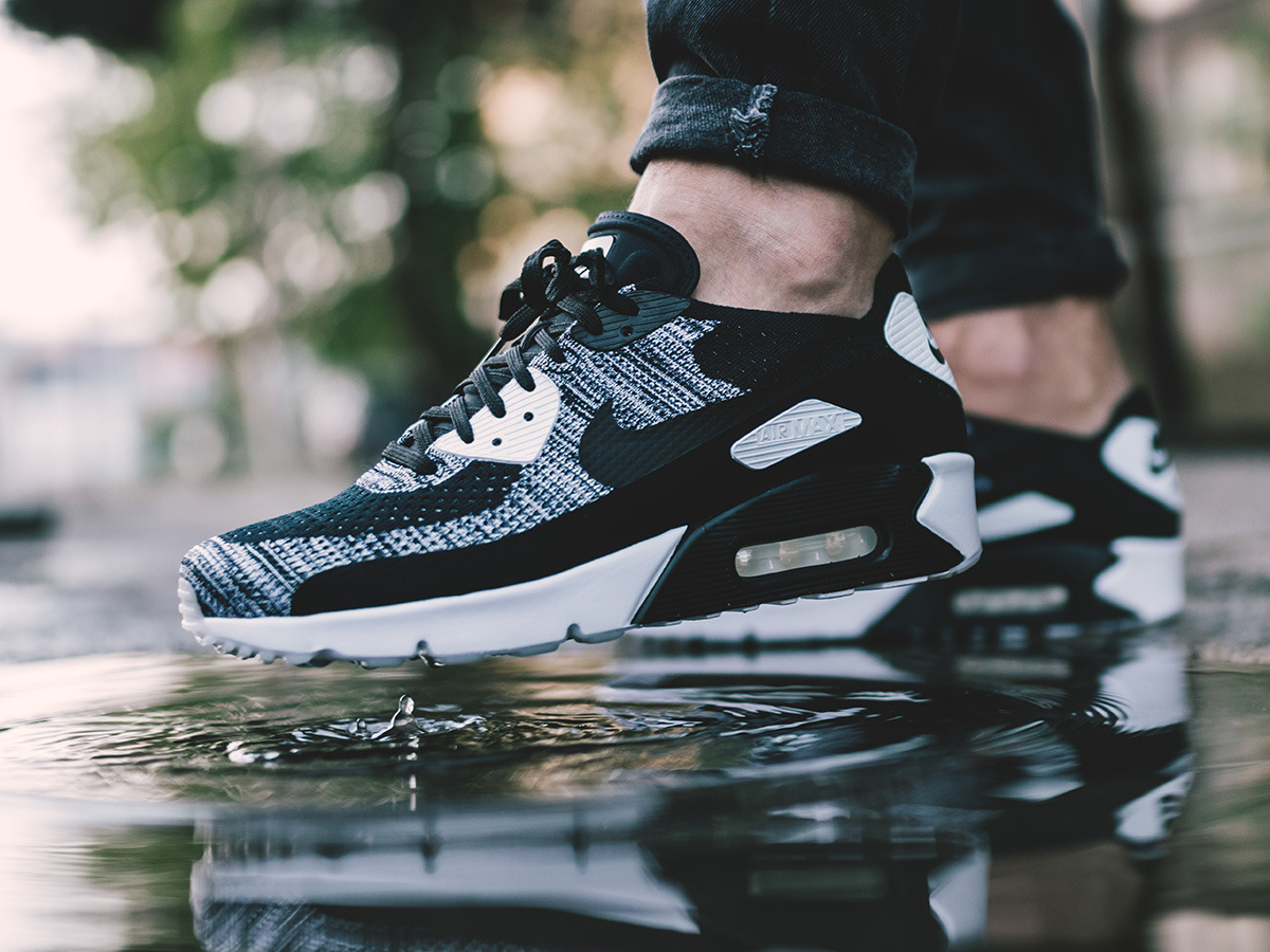 the best attitude c510c 40dc5 ... Buty męskie sneakersy Nike Air Max 90 Ultra 2.0 Flyknit 875943 001 ...