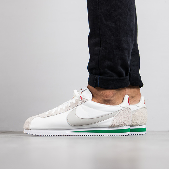 separation shoes f36d0 36334 ... Buty męskie sneakersy Nike Classic Cortez Nylon Premium 876873 100 ...