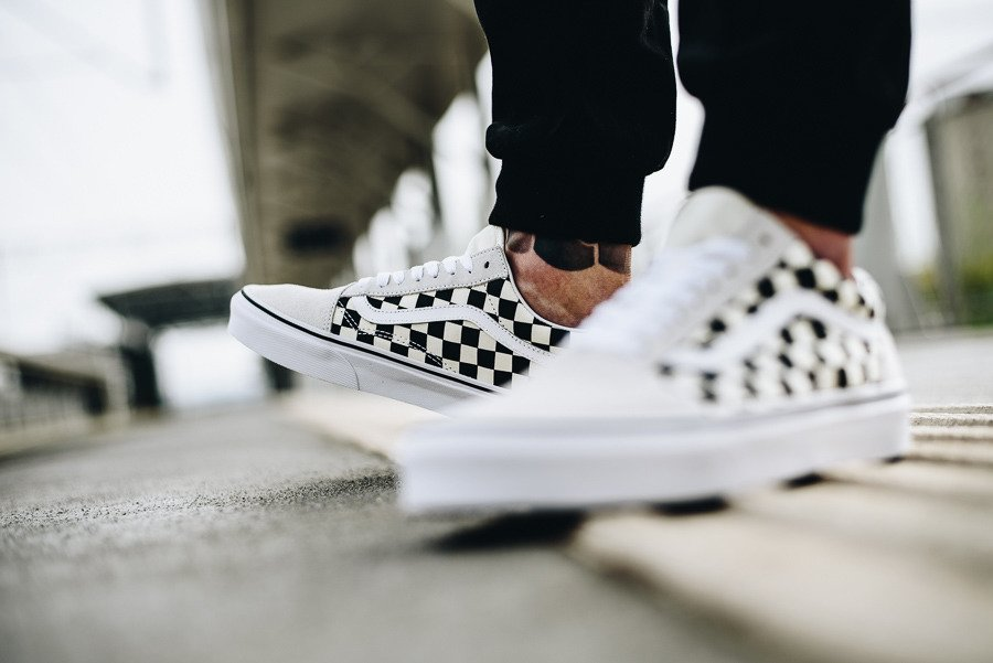 vans old skool chess