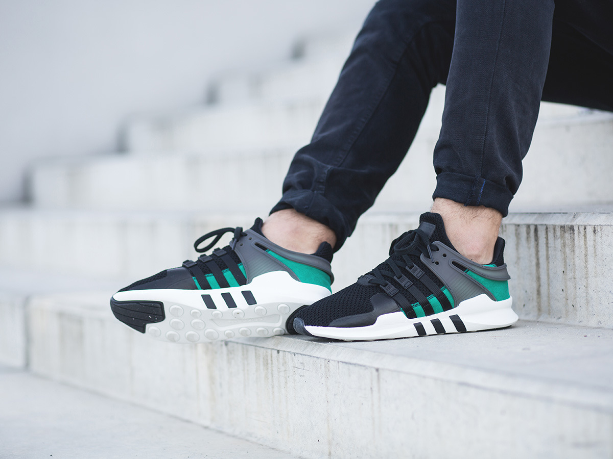 Adidas Buty Eqt Support Adv Shoes Zielony thorin.pl