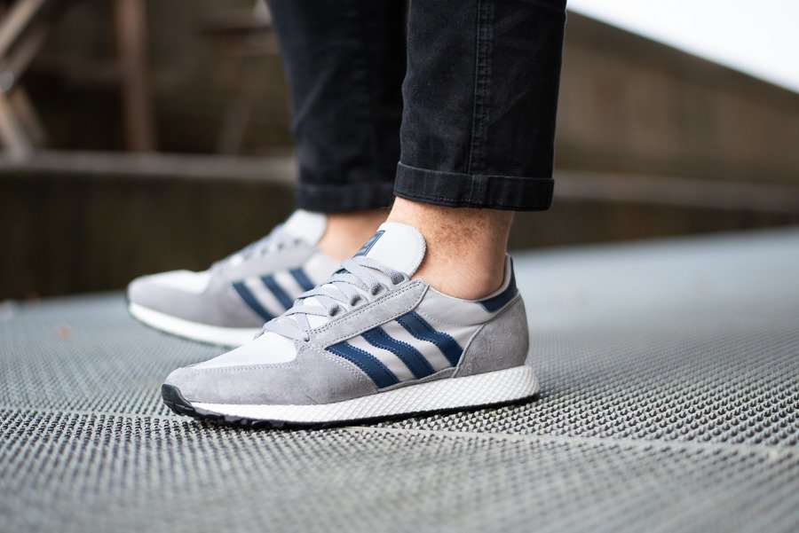 Buty męskie sneakersy adidas Originals Forest Grove D96631