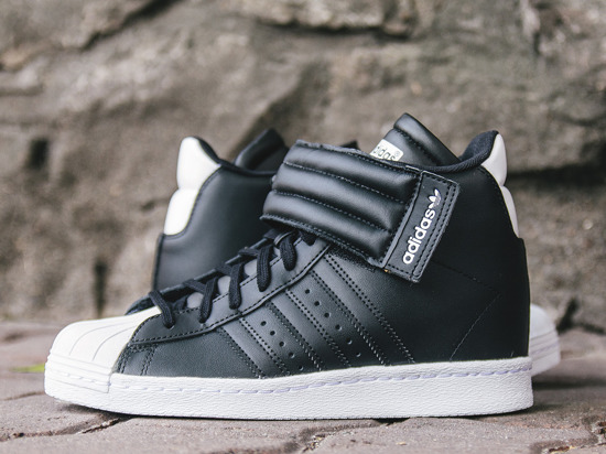 BUTY DAMSKIE SNEAKERSY KOTURNY ADIDAS ORIGINALS SUPERSTAR UP STRAP S81350