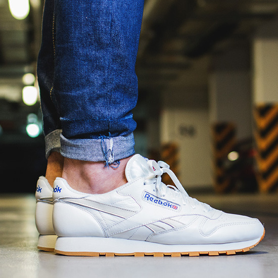 BUTY REEBOK CLASSIC LEATHER VINTAGE AQ9136