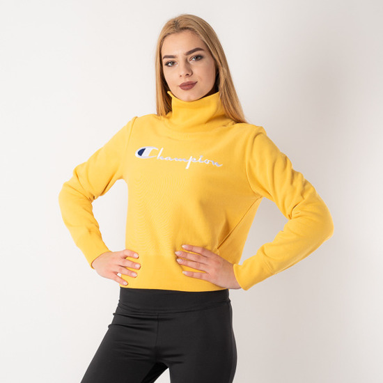 Bluza damska Champion Turtle Neck 111187 YS048