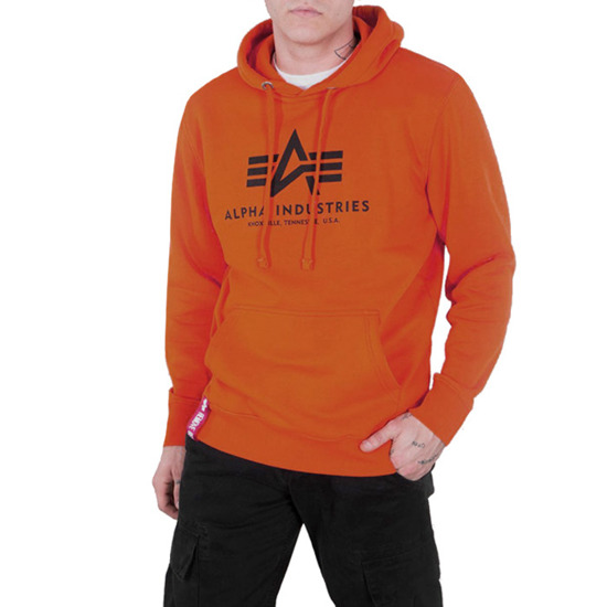 Bluza męska Alpha Industries Basic Hoody 178312 417
