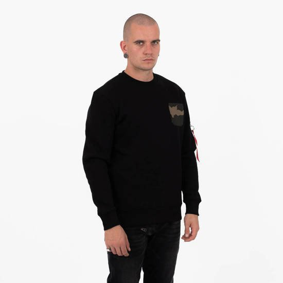 Bluza męska Alpha Industries Camo Pocket 178300 03
