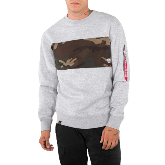 Bluza męska Alpha Industries Como Bar Sweater188303 17