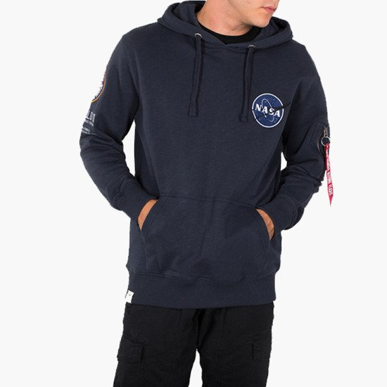 Bluza męska Alpha Industries NASA Apollo 11 Hoody 188310 07