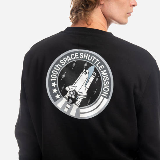 Bluza męska Alpha Industries NASA Space Shuttle Sweater 178307 03