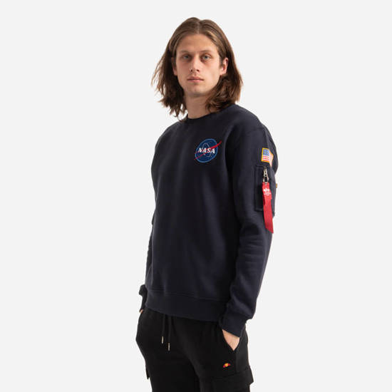 Bluza męska Alpha Industries NASA Space Shuttle Sweater 178307 07