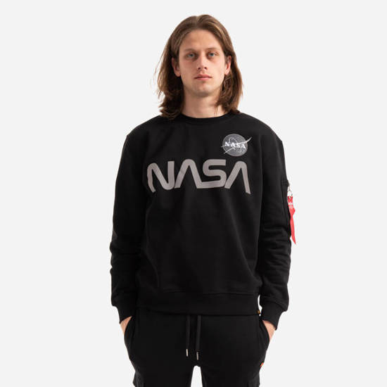 Bluza męska Alpha Industries Nasa Reflective Sweater 178309 03