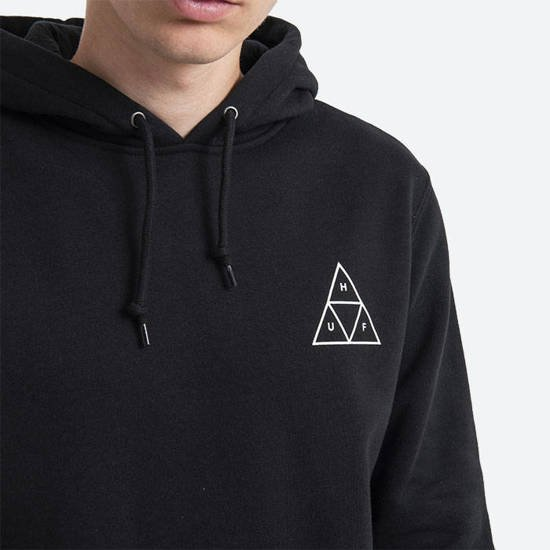 Bluza męska HUF Hooded Triple Triangle PF00100 BLACK