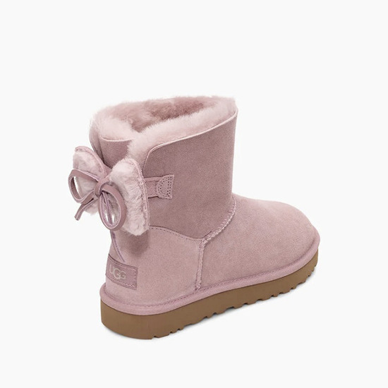 Buty damskie UGG Classic Double Bow Mini 1103652 PCR