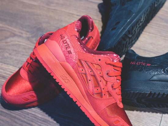 Buty damskie sneakersy Asics Gel Lyte III Valentine's Day Pack H63QQ 2323