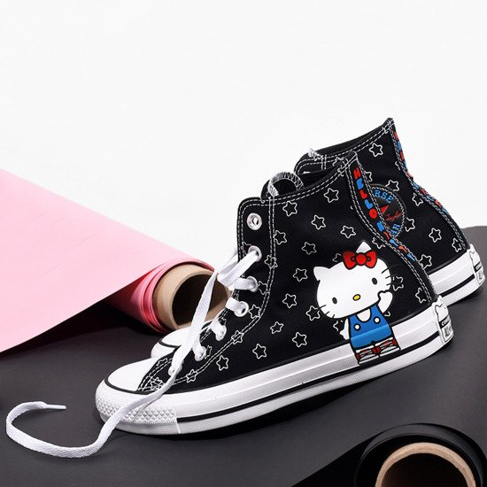 Buty damskie sneakersy Converse Chuck Taylor AS x Hello Kitty 163919C