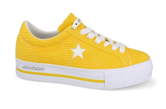 "Buty damskie sneakersy Converse One Star Platform OX ""MadeMe"" 561393C"